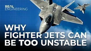 Download Why Fighter Jets Can Be Too Unstable Mp3 and Videos