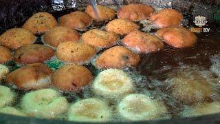 Korean Street Food  Japanese Croquette Korokke in Sanggye-Dong Seoul Korea