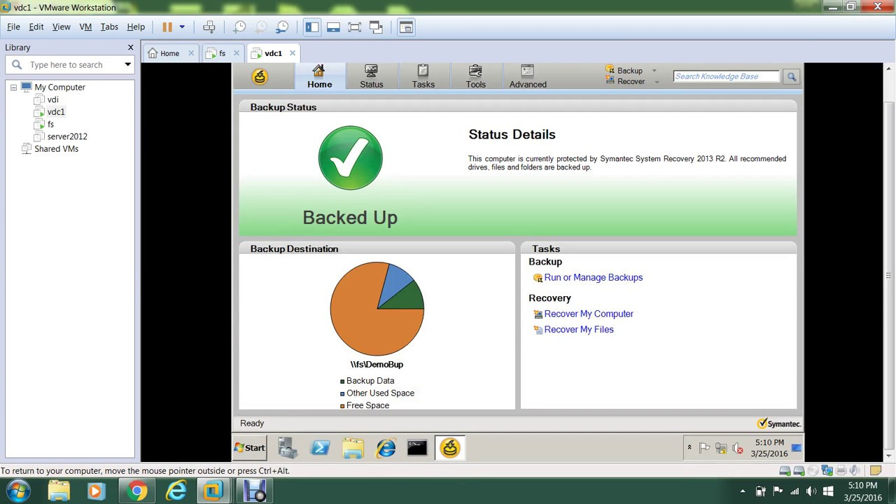 System Recovery Veritas Youtube