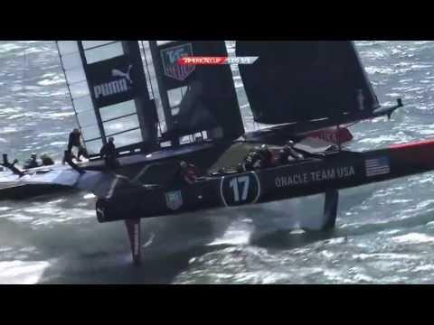 ORACLE TEAM USA - Racing on the Bay