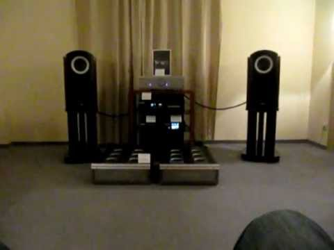 Tad loudspeakers and Musical Fidelity amps