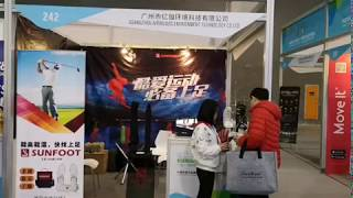 Sunfoot at 2018 China Sports Culture Expo and Sports Tourism Expo