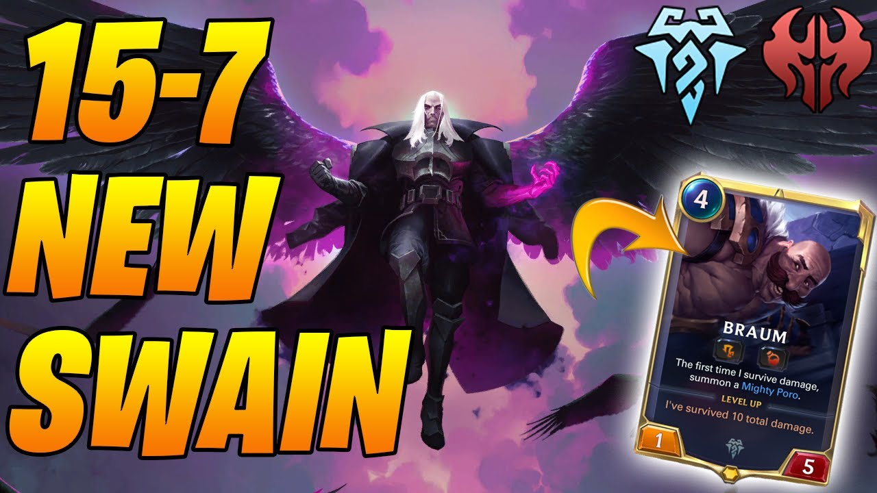 15-7 Metabreaker to Master's Swain + Braum! | Legends of Runeterra | Controltheboard