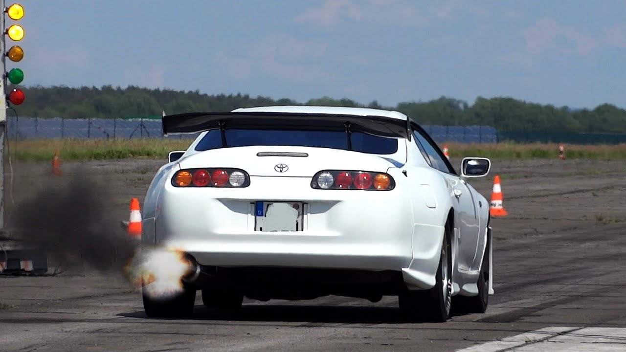 2015 Toyota Supra >> Toyota Supra Turbo 1000hp++ Acceleration Sounds - YouTube