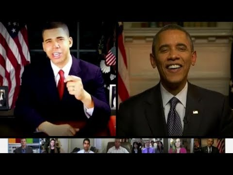 Obama Critiques AlphaCat's Obama Impression