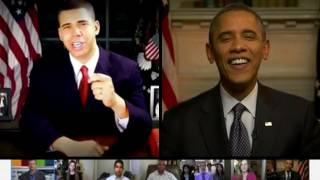 Obama Critiques AlphaCat's Obama Impression