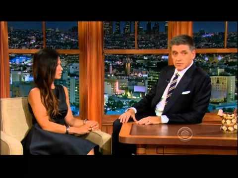 Craig Ferguson 9/10/12E Late Late Show Rhona Mitra