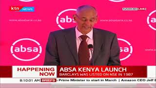 Barclays bank officially rebrands to ABSA Kenya following  regulatory and shareholders approval