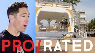 Pro/Rated: Athletes React To Cyr Wheels, Bladesports & More | People Are Awesome