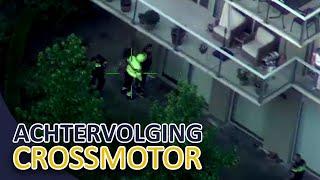 Achtervolging crossmotor   Verdachte negeert slagbomen bij een spoorwegovergang   Politie Utrecht