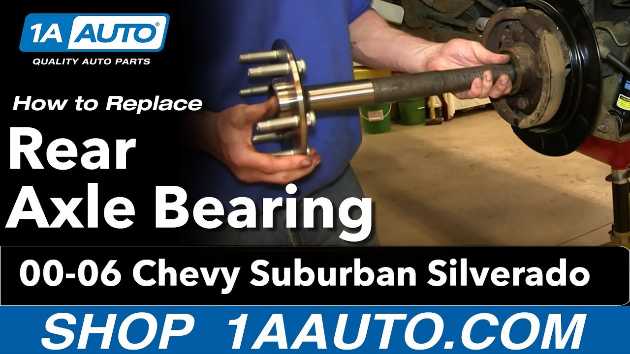 How to Replace Wheel Bearing 99-13 Chevy Silverado 1500 ...
