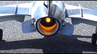 Firey Booty LED Afterburner Avios MIG 17 INSTALL and FLIGHT! THAT LANDING!!!