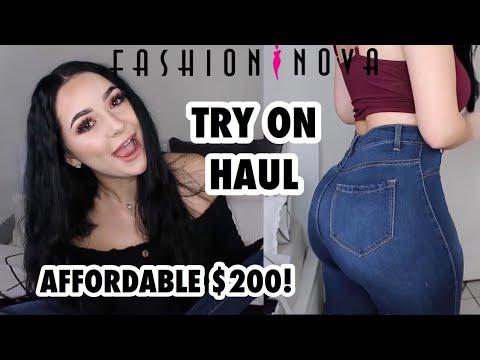 $200 FASHION NOVA TRY ON HAUL!| Anna Paul