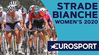 Strade Bianche 2020 Women's Highlights | Cycling | Eurosport