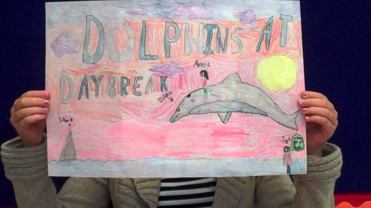 dolphins at daybreak book report