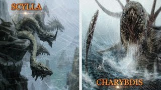 Antara Scylla Dan Charybdis , Dua Pilihan Yang Sulit !! ( Mitologi Yunani )