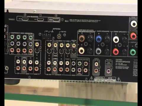 Onkyo Tx Sr605 Receiver Review On Av Land Youtube
