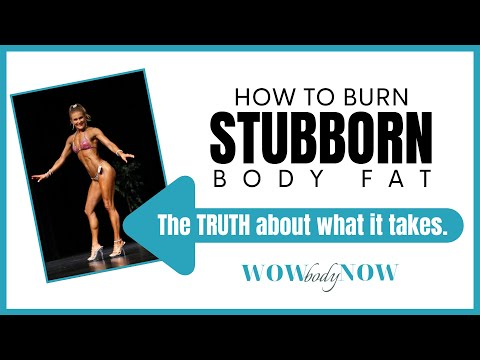 How To Burn Stubborn Body Fat : 3 Rules of Fat Loss & Tracking Macros