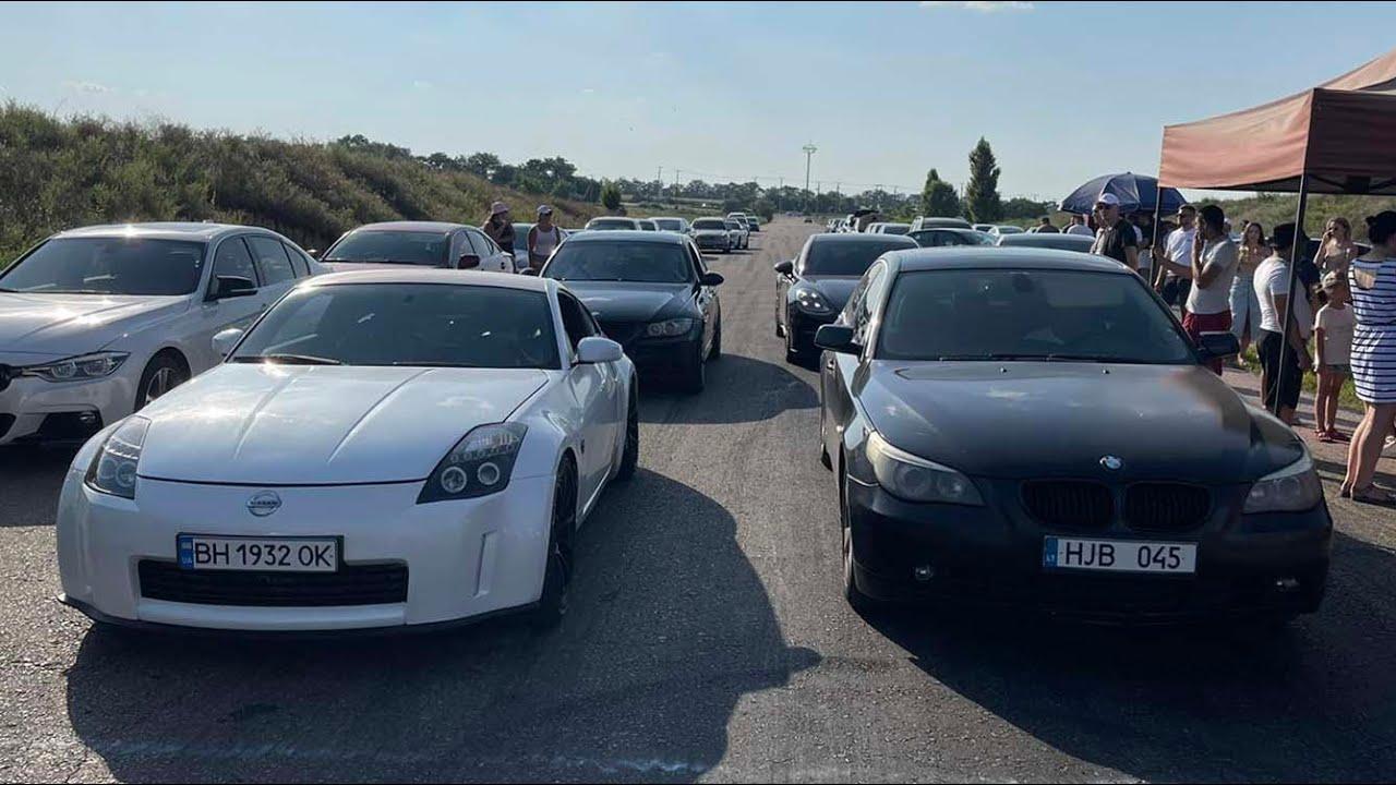БАВАРСКИЙ ВОЛК vs Nissan 350Z, Ford Fusion 325hp, Mercedes-Benz 300hp+