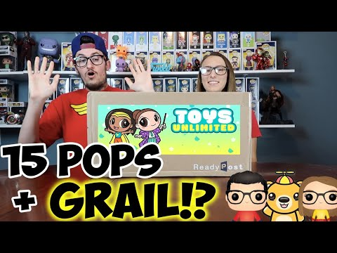 HUGE MYSTERY GRAIL FUNKO POP BOX FROM TOYS UNLIMITED!!