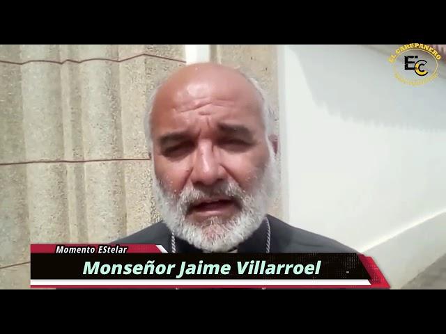 Obispo de Carúpano monseñor Jaime Villarroel en Momento Estelar