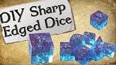 "How to Make Your Own Dice SetSharp Edge &quotGem"" Dice"