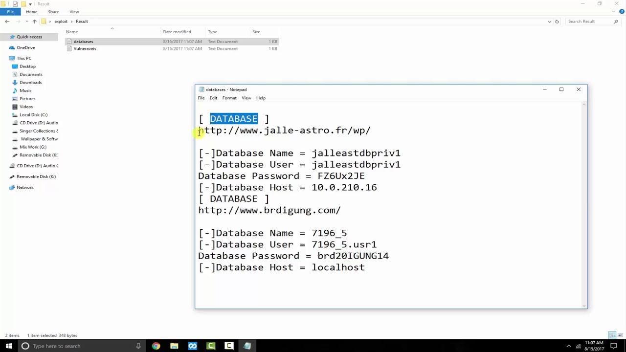Auto Exploit Revslider Get Config 2017