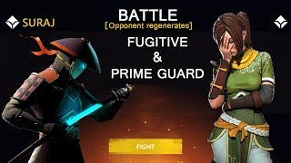Shadow Fight 3 Official Battle Fugitive & Prime Guard