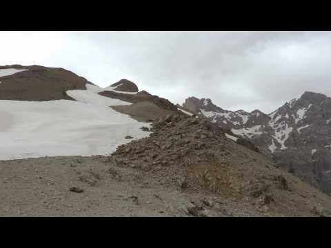 Zard-Kuh pass in Zagros mountain in Iran