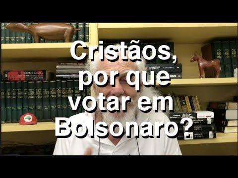 Cristãos, por que votar em Bolsonaro?