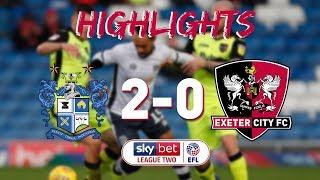 HIGHLIGHTS: Bury 2 Exeter City 0 (8/12/18) EFL Sky Bet League 2