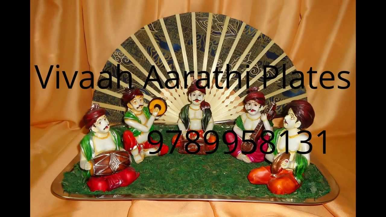 Aarathi plates youtube for Aarathi plates decoration