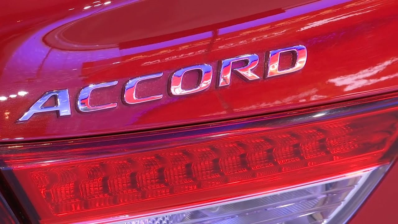 Honda Accord Named North American Car Of Year