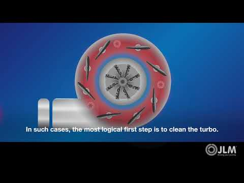 JLM Lubricants Diesel Turbo Cleaner - no need to remove the Turbo - Pour in fuel Tank = clean turbo