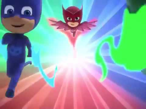 PJ Masks Theme Song Backwards Reversed