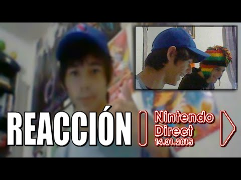 Reacción al Nintendo Direct 14.Ene.2015 (Con mi hermano)