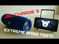 JBL CHARGE 3 EXTREME BASS TEST mp3