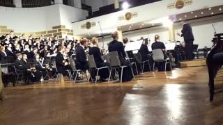 2.video. Latviešu mūzikas koncerts.LU pūtēju orķestris.02.11.2013. mob.video.
