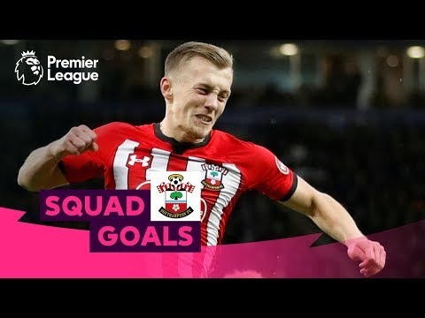 Superb Southampton Goals | Le Tissier, Ward-Prowse, Beattie | Squad Goals