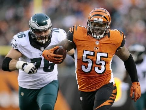 Vontaze Burfict Vs Eagles Nfl Week 13 2016 15 Tackles 2 Ints Nfl Highlights Hd