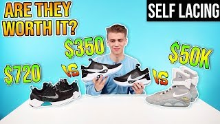 Nike $350 Self Lacing Shoes - ARE THEY WORTH IT? Ep 02