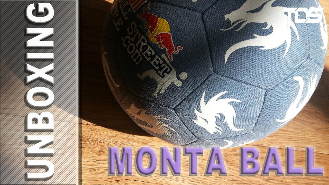 RED BULL STREET STYLE MONTA BALL -UNBOXING PLAY bf2e9b5759bbc