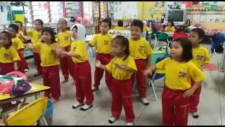Husna dgn kwn2 belatih menari jomblo happy Mp3