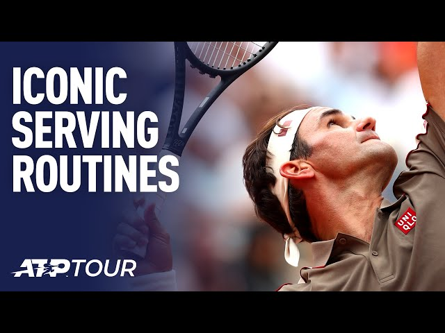 The Different Serve Routines In Tennis