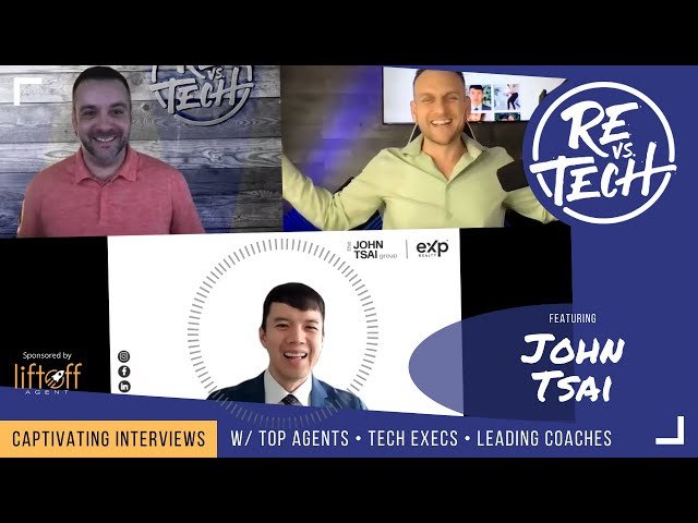 Pivoting From Traditional Real Estate To Embracing Technology with John Tsai | RE vs. TECH | Ep#73