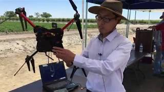 Farmers see latest drone research at field day