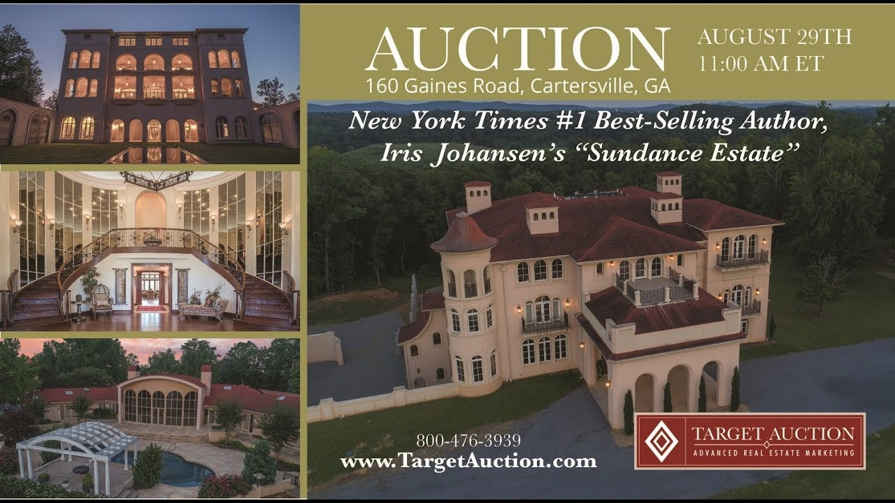 Luxury Auction Sundance Estate Cartersville Ga 8 29 17