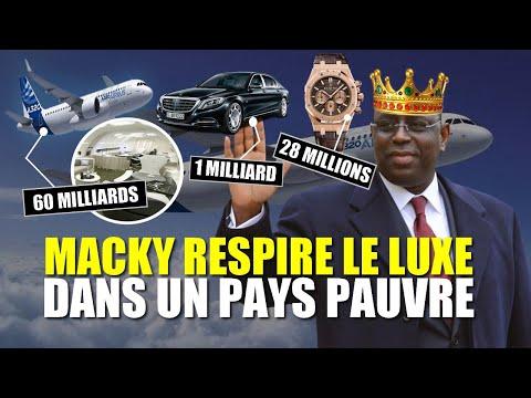 Avion 60 milliards, Montre 28 millions, Maybach 1 milliard... Ndax Macky Buur La