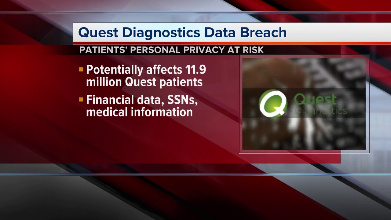 Quest Diagnostics Says Up to 12 Million Patients May Have Had Financial, Medical, Personal Information Breached