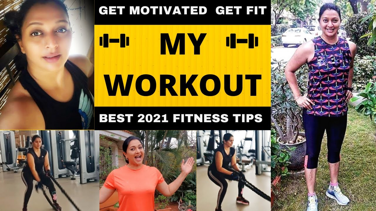 MY WORKOUT | GYM FITNESS & WEIGHT LOSS TIPS | BE MOTIVATED GET FIT NOW | GAYATRI JAYARAMAN WORKOUT
